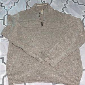 Men's Sweater Medium (1/4 zip with collar)